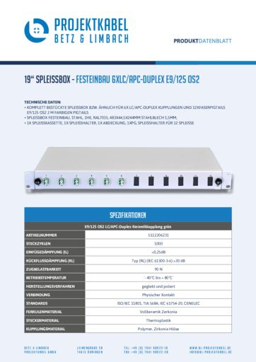 thumbnail of SPLEISSBOX_FESTEINBAU-6XLC-APC-DUPLEX-E9-125-OS2