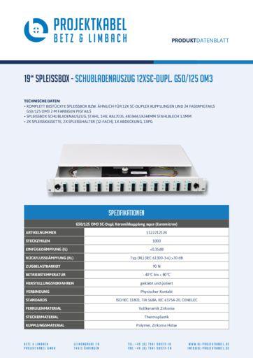 thumbnail of SPLEISSBOX-SCHUBLADENAUSZUG-12XSC-DUPL-G50-125-OM3